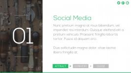 Social Media PowerPoint Template Presentation