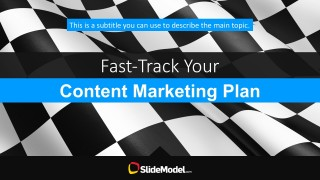 Content Marketing Plan Overview PowerPoint Templates Cover