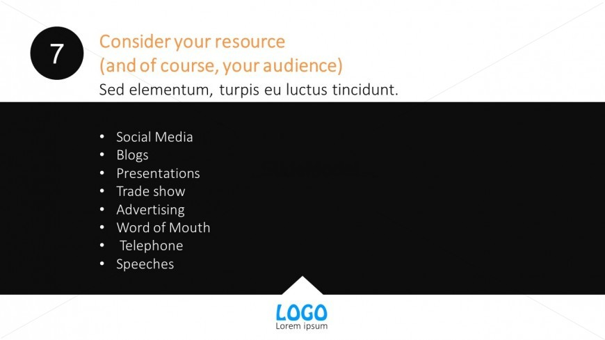 Marketing Channel And Network PowerPoint Template