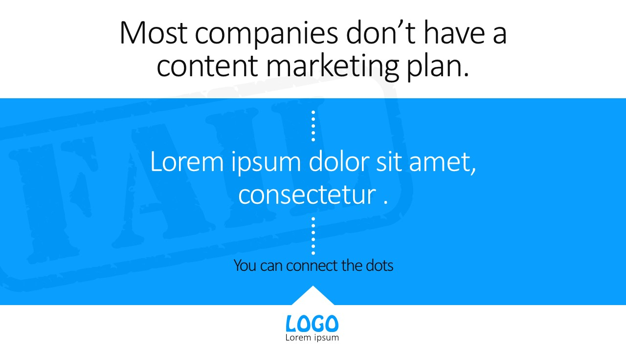 business content marketing powerpoint templates - slidemodel, Modern powerpoint
