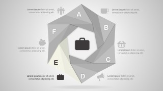 Editable PowerPoint Origami Shapes