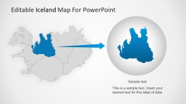 Continent Map For PowerPoint Templates
