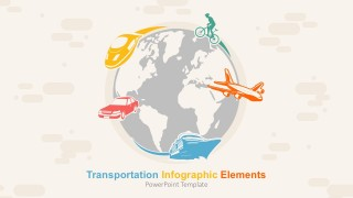High-Quality Transport Infographics Elements For PowerPoints