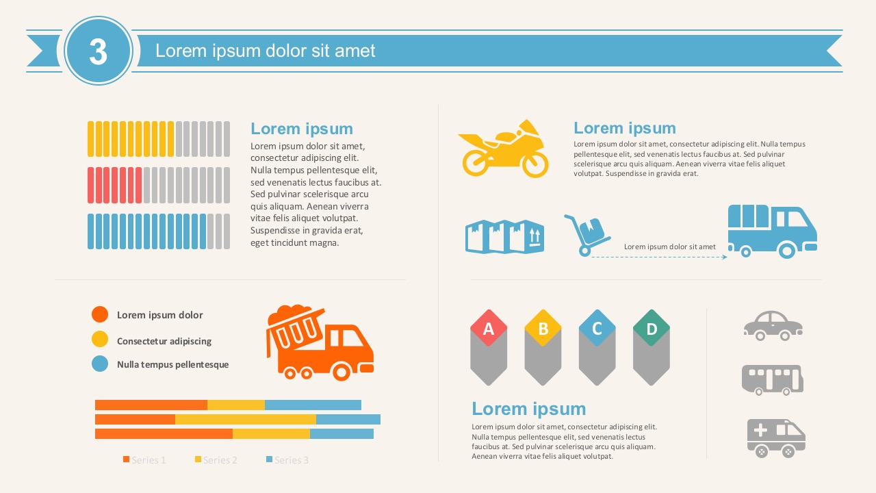 Transportation infographic elements powerpoint template supply chain management powerpoint icons and shapes editable transport toneelgroepblik Choice Image