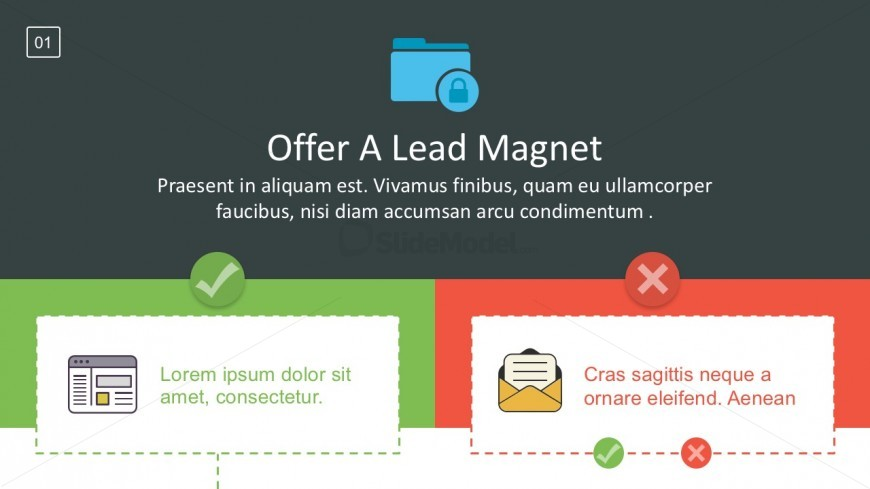 Sales Funnel Lead Magnet Framework For PowerPoint