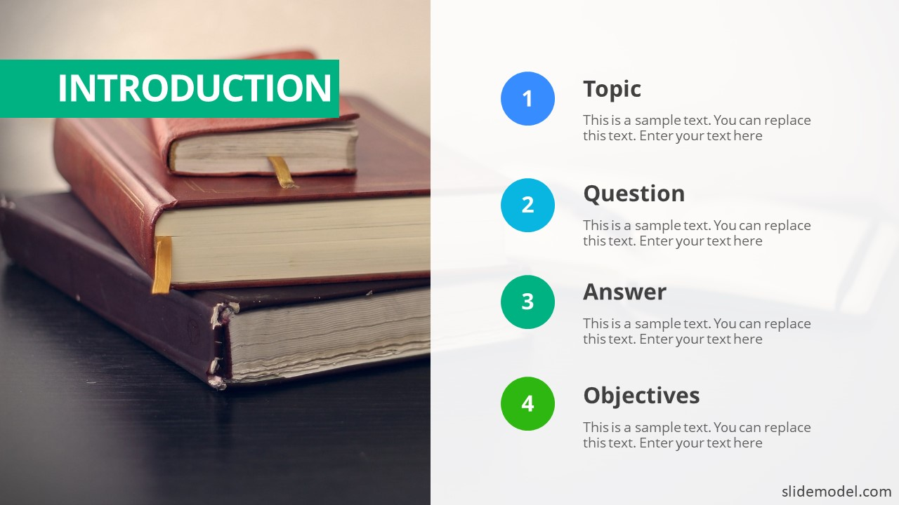 How to do a proper thesis defense using the right powerpoint ppt template introduction slide maxwellsz