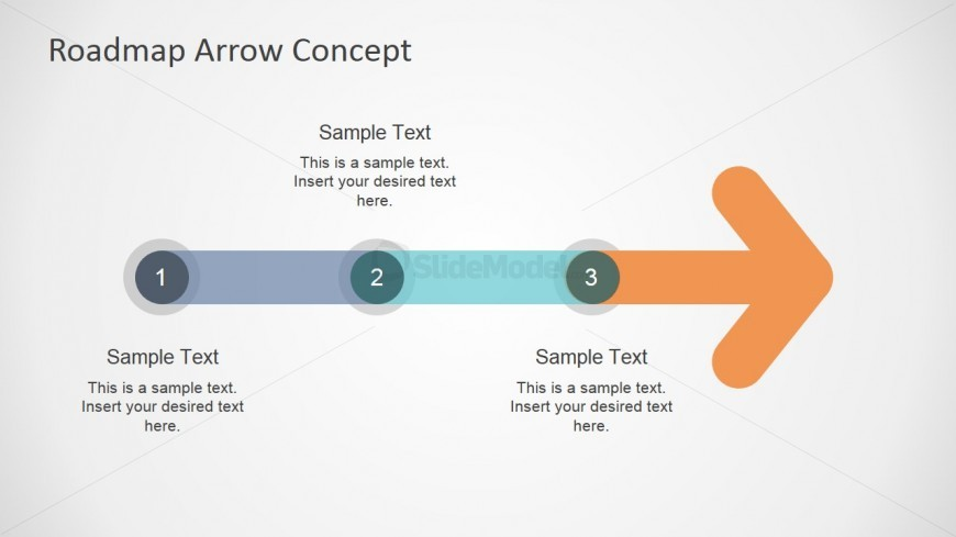 03 arrow timeline roadmap ppt slidemodel