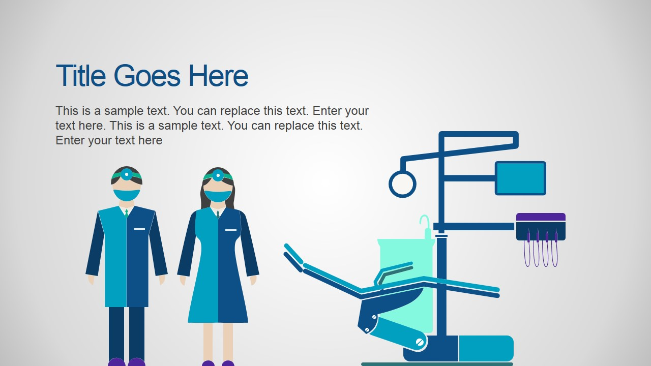 medical research powerpoint template