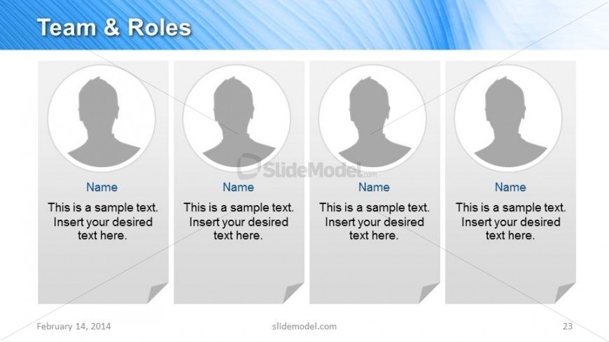 Team Responsibilities Amp Roles Slide Design For Powerpoint