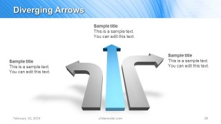 Three Arrows PowerPoint Template