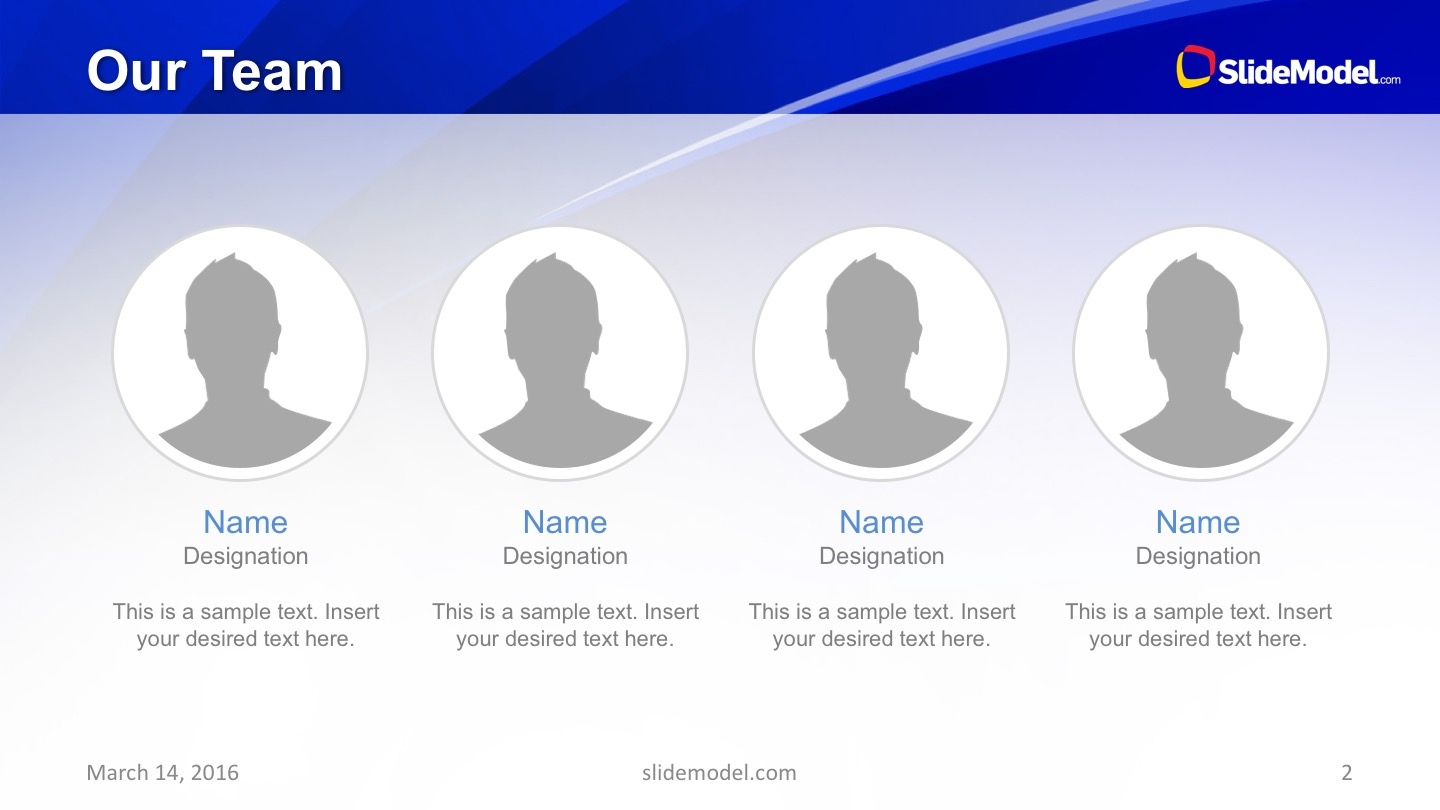 Editable Image Placeholders for Team