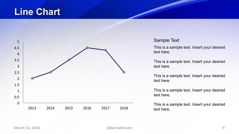 Chart Template Data Driven Slide