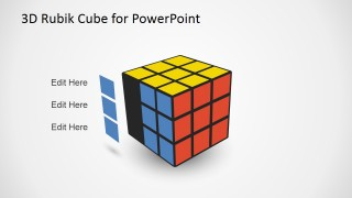 PowerPoint Rubik Cube Cliapart with Series