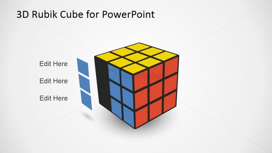 PowerPoint Rubik Cube Cliapart with Series
