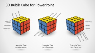 Business Analysis Template With Rubik's Cube Illustration