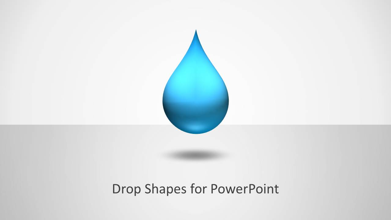 drop shapes for powerpoint