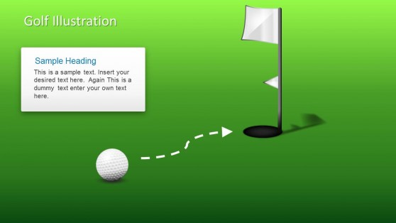 Golf PowerPoint Slide Design