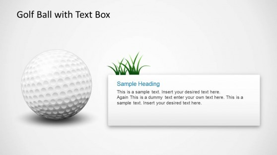 Golf Ball for PowerPoint