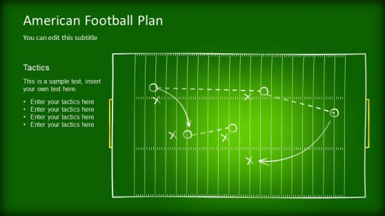Editable Game Plan Template For Powerpoint
