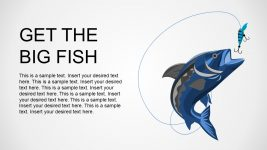 Editable Fish Shape Business Presentation
