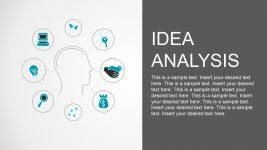 Brainstorming Infographic Icon Slide