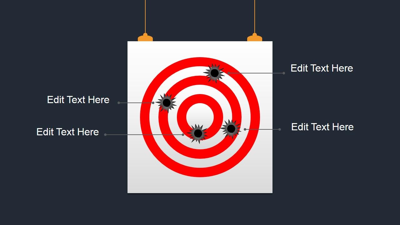 bullseye shapes for powerpoint