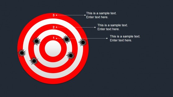 Editable Bullseye Target Shapes for PowerPoint