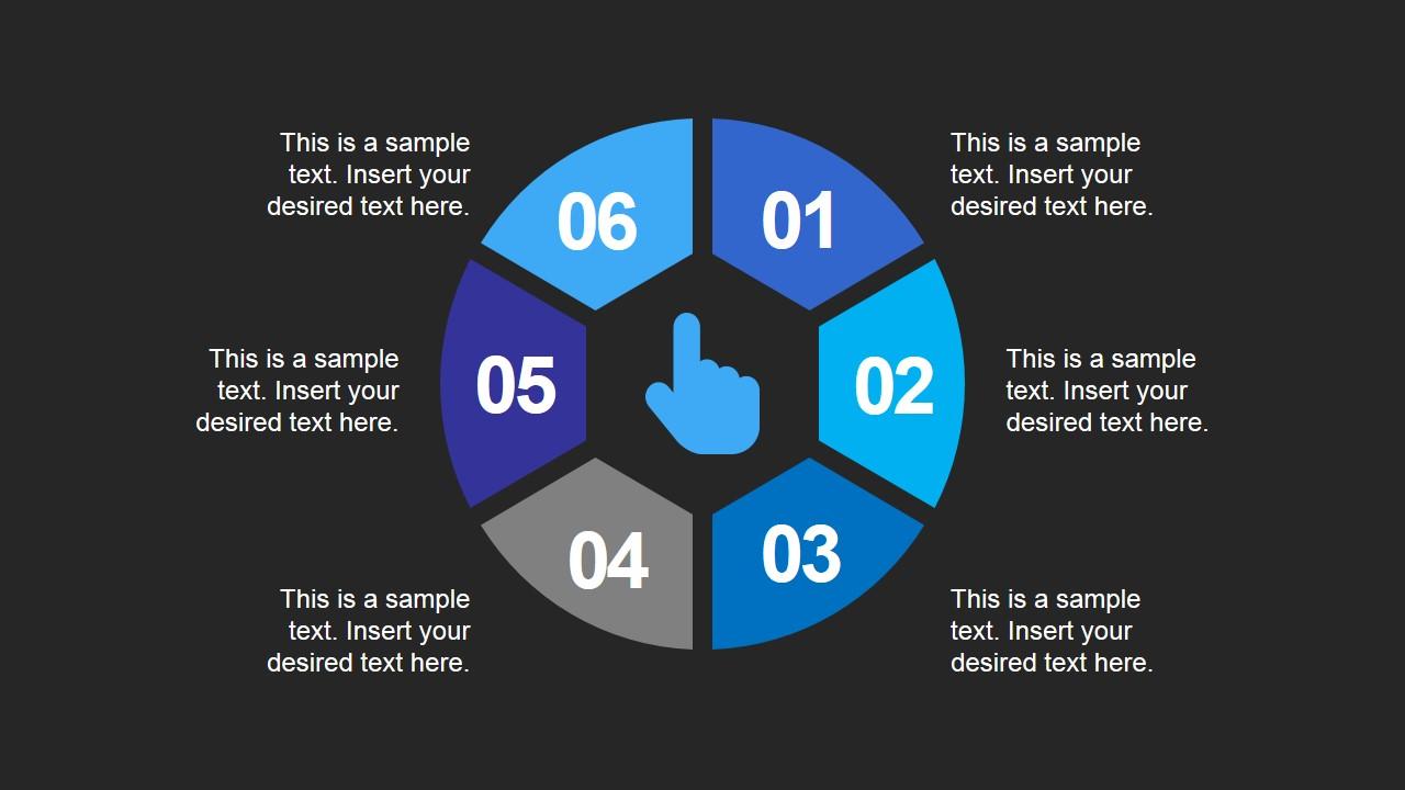 Presentation Diagram Circular Process Flow
