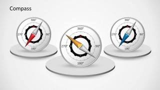 Compass PowerPoint Template Slides