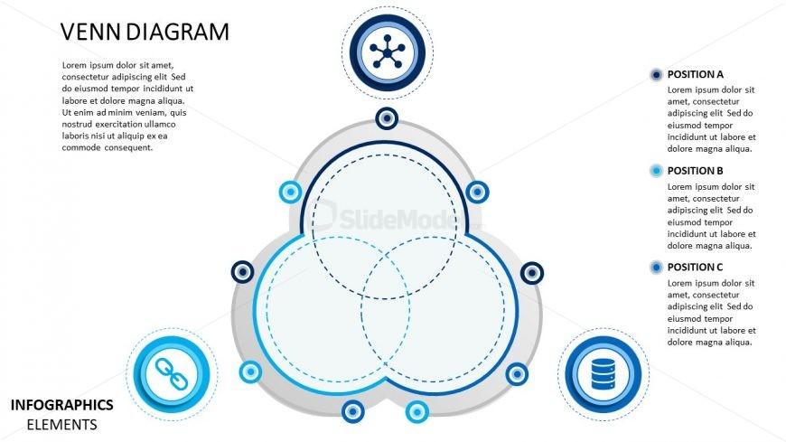 Venn diagram powerpoint template slidemodel venn diagram powerpoint template sci fi material design infographics toneelgroepblik Images