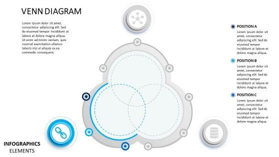 Material Design PowerPoint Diagram