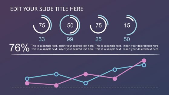 Slide of Infographic Charts