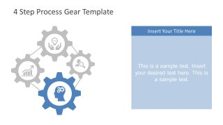Gears Clipart Template for PowerPoint