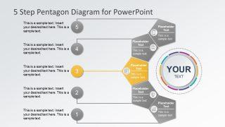 Diagram Design of Pentagon Segments
