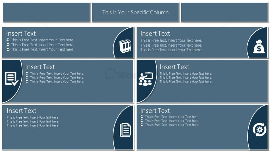 Infographic Table Presentation Design