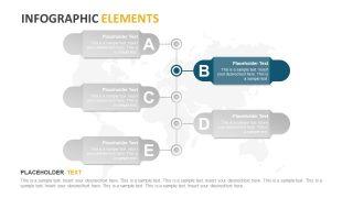 Vertical Timeline Template Design