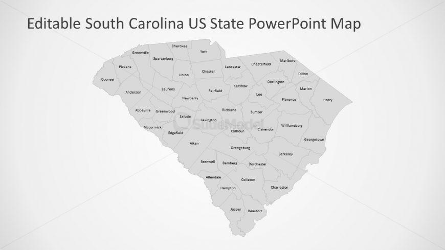 Presentation of 46 Counties South Carolina