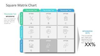 Strategy presentation Matrix Template