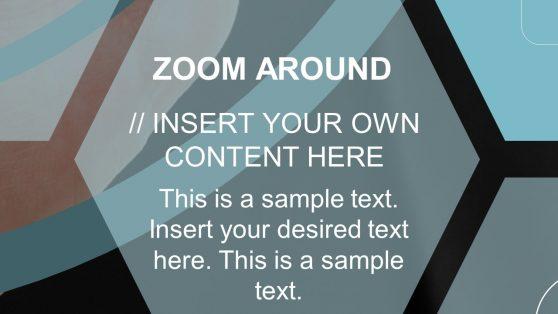 Presentation of Navigational Zoom Effect