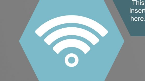 WiFi PowerPoint Hexagonal Unit