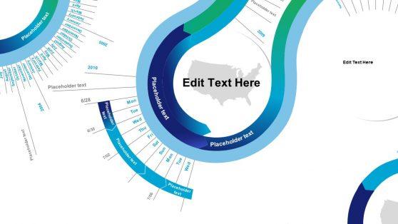Timeline ZigZag Template Design