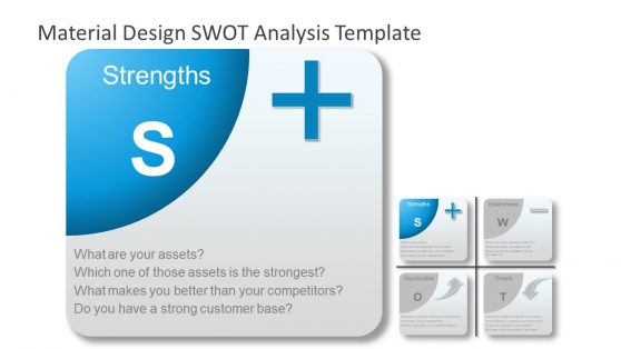 Strengths PowerPoint SWOT Analysis