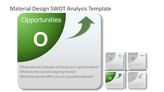 Opportunities PowerPoint SWOT Analysis