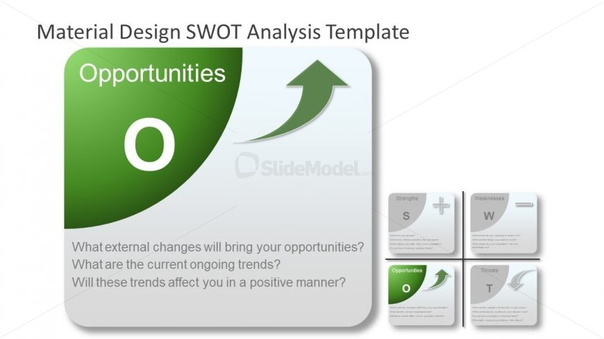 Flat Material Opportunities Template