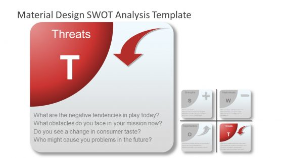 Threats PowerPoint SWOT Analysis