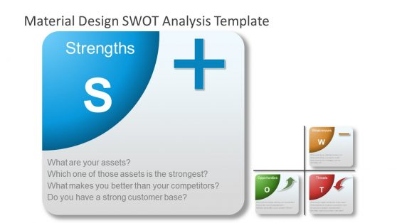 PowerPoint Material SWOT Strengths