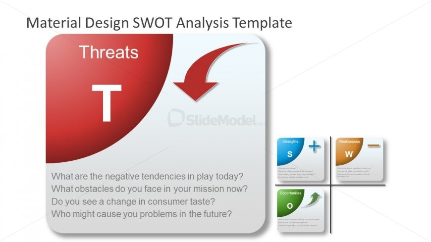 SWOT Analysis Threats Presentation