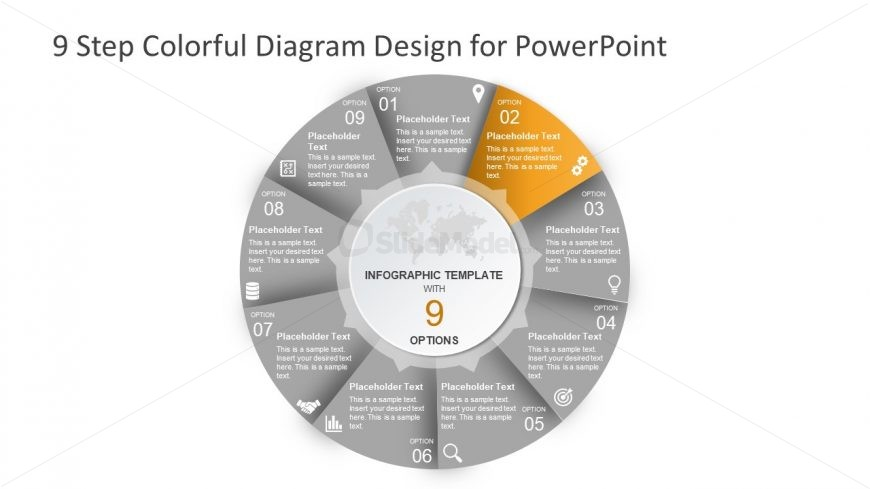 Editable 9 Step Cycle Process