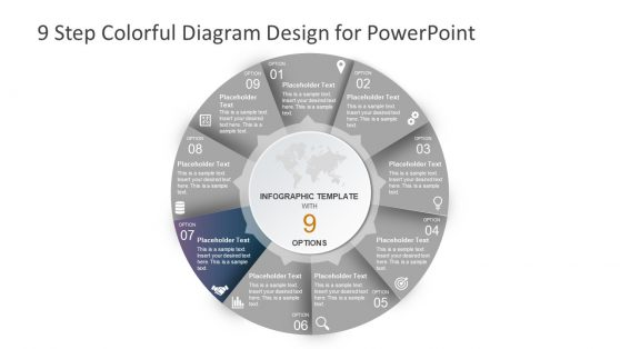 Colorful Diagram Design PowerPoint