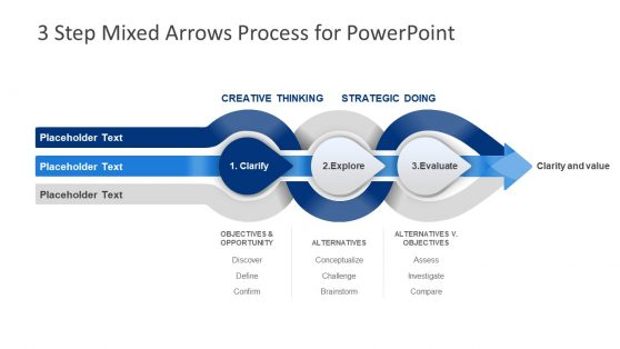 Analysis PowerPoint 3 Steps Model